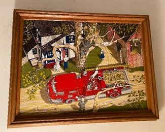 Hargrove fire engine painting