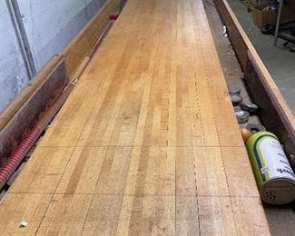 Vintage 22 ft American Shuffleboard