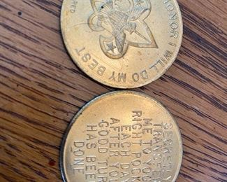 Boyscout good deed coin