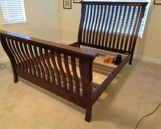 Beautiful sleigh bed