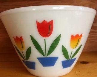 "vintage Fire King 8.5"" bowl"