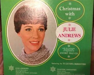 Julie Andrews Christmas album -- we have LOTS of LPs
