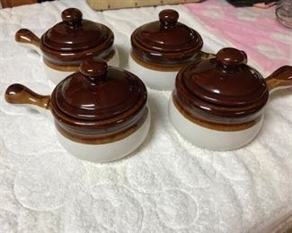 Brittany Stoneware soup bowls