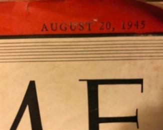 Time Magazine date