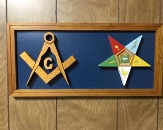 Masons & OES plaque