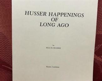 Husser Happenings of Long Ago (Ella B. Hughes)