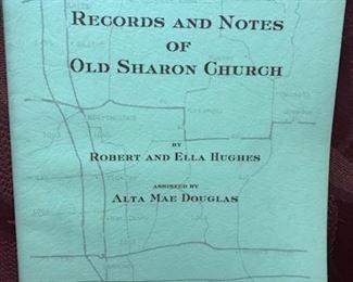 Records and Notes of Old Sharon Church (Hughes &  Hughes)