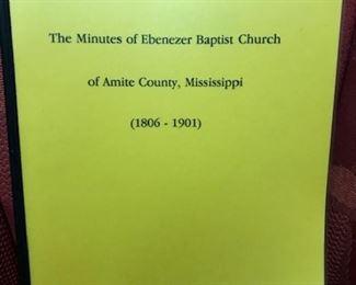 Ebenezer Baptish Church Minutes
