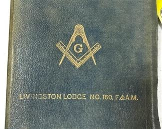 Livingston Lodge book