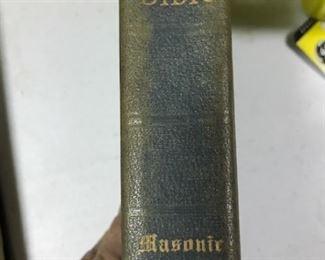 Masons Bible spine