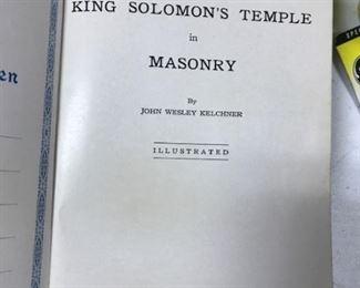 Masons Bible frontpiece