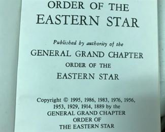 Easter Star  Ritual frontpiece