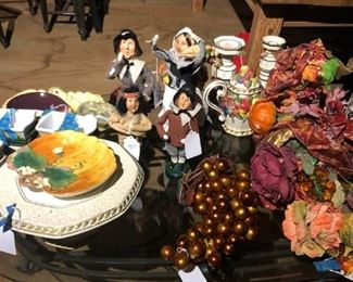Byers Christmas Carolers, Fitz and Floyd Items,Other Christmas Decorations