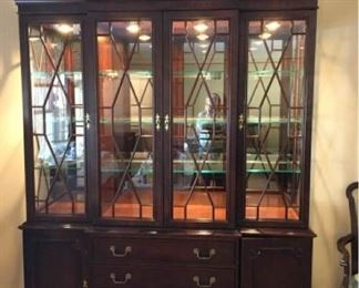 Century Hutch and Table