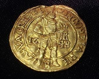 1648 Gold Ducat
