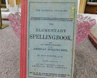 Early spelling book
