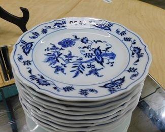"10 Blue Danube  7"" plates"