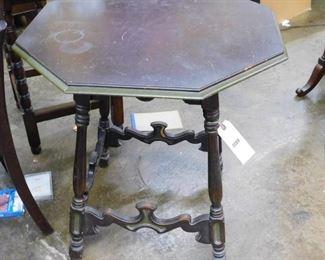 Mahogany center table