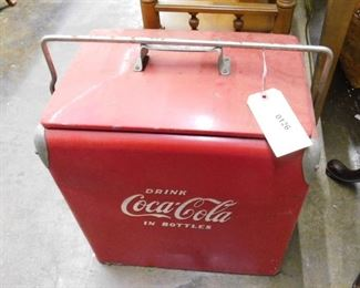 Vintage drink coca cola has all inserts great shape