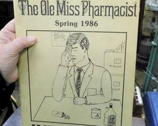 1986 OLE MISS PHARMACIST STUDENT ON GRADUATION