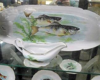 12 PC. FRENCH FISH SET