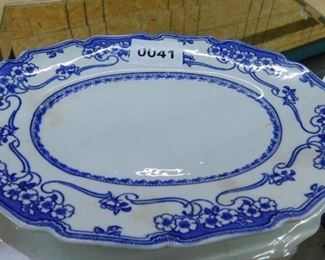ROYAL DOULTON BLUE & WHITE PLATTER