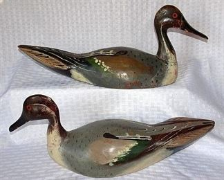 Outstanding Collection of Wooden Duck & Goose Decoys