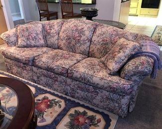 Broyhill Floral Sleeper Sofa