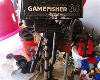 Gamefisher 3.0 Boat Motor