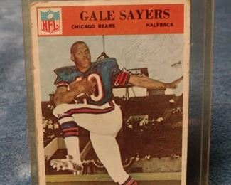 Gale Sayers 1966 Rookie Card