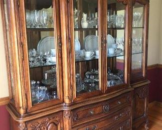 Bernhardt china cabinet