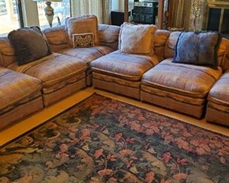Sectional  & Area Rug