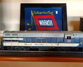 Wabash Engine and Picture