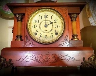 Seth Thomas Ornate Mantle Clock