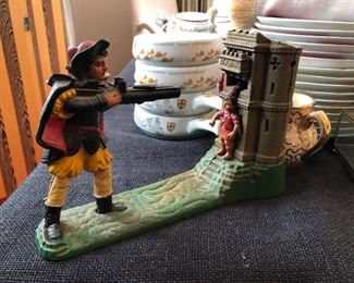 Reproduction William Tell mechanical bank