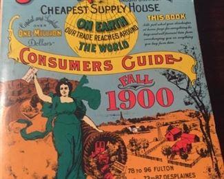 Sears Roebuck and Co. catalog replica