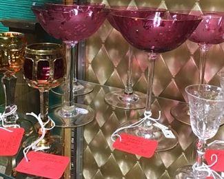 Moser Glass Stemware