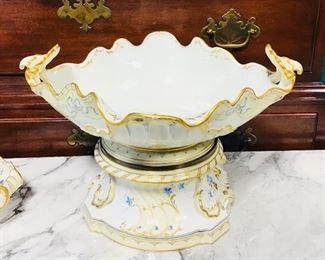 KPM Porcelain Compote Centerpiece