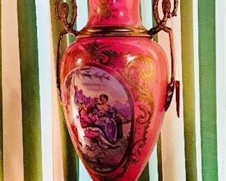 French Porcelain Urn