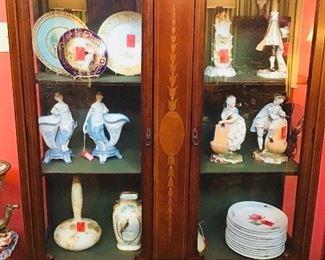 Velvet Lined Cabinet