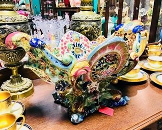 Zsolnay Porcelain Centerpiece
