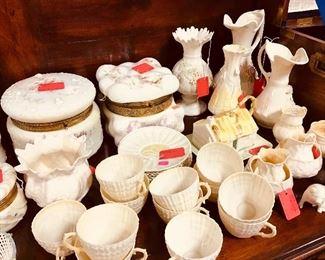 Wavecrest and Belleek Porcelain