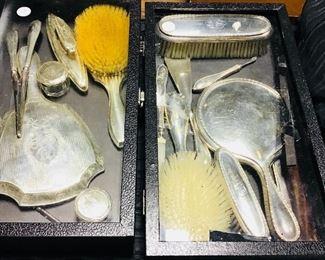Sterling Dresser Sets