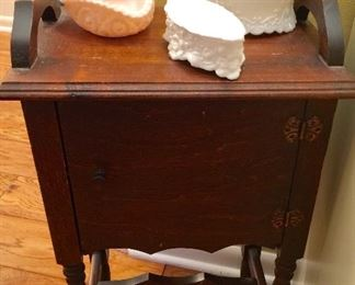 Small primitive commode cabinet