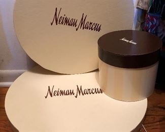 Newman Marcus hat boxes