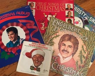 Christmas albums vinyl
