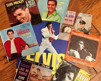 Elvis vinyl albums