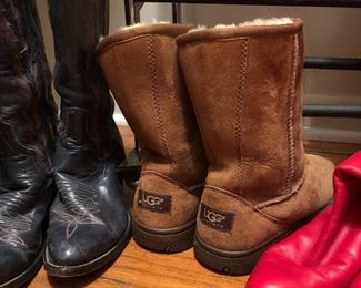 UGG boots, cowboy and more