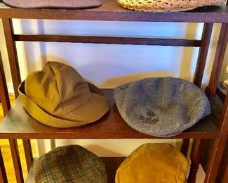 """Vintage baseball cap and stylish """"Sean Connery"""" caps"""