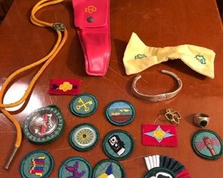 More Girl Scout items